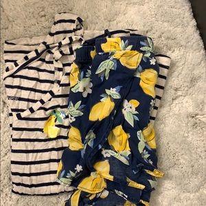 Gilligan & O'Malley Lemon pajamas